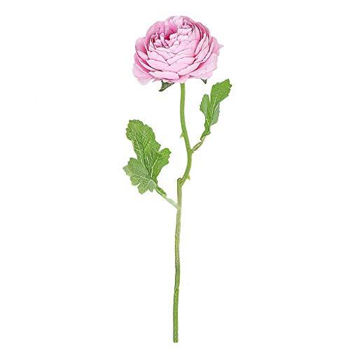 VICKY-HOHO künstliche gefälschte Rosen Flanell Blume Braut Bouquet Hochzeit Party Home Decor