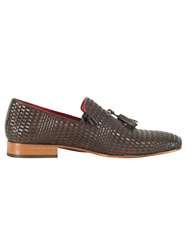 Jeffery West Uomo Scarpe in pelle Jung, Marrone Marrone