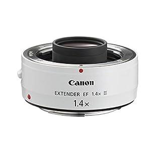 Canon EF 1.4X III - Adaptador para Objetivos de cámaras Canon EF 70-200mm f/2.8L, EF 70-200mm f/2.8L IS, EF 70-200mm f/4L, EF 100-400mm f/4.5-5.6L, Color Blanco (B0040X451I) | Amazon price tracker / tracking, Amazon price history charts, Amazon price watches, Amazon price drop alerts