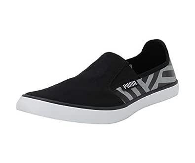 PUMA Men's Auxius IDP Black-Quarry Sneakers-8 UK/India (42 EU) (4060979674684)