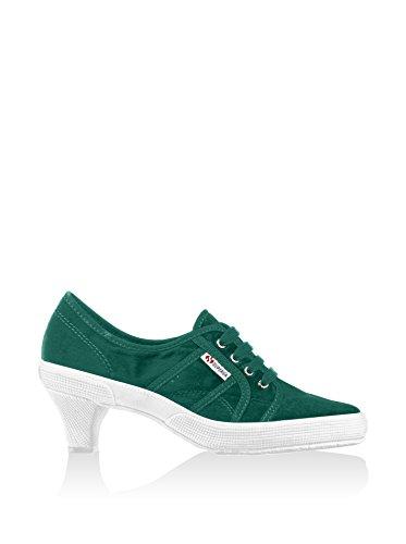 Damenschuhe- 2148-velw Dk Green