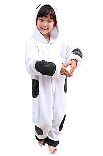 YAOMEI Kinder Unisex Jumpsuits, 2018 Kostüm Tier Onesie Nachthemd Schlafanzug Kapuzenpullover Nachtwäsche Cosplay Kigurum Fastnachtskostuem Weihnachten Halloween (90-100CM(35''-39''), Baymax)