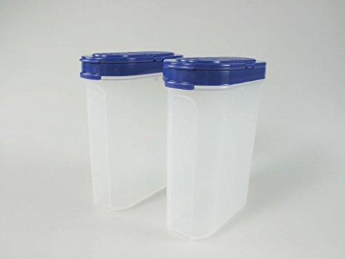 TUPPERWARE Gewürz-Riesen 270 ml blau (2) Gewürz Behälter Gewürzbehälter groß 7535