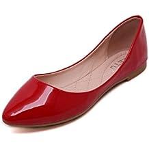 Tefamore Zapatos de Mujer de Elegante Botines Mocasines de Casual