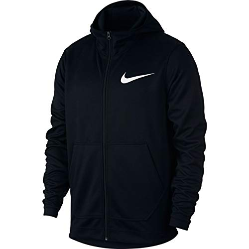 Nike Herren M NK Spotlight FZ Sweatshirt, Black/White, L