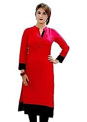 Kurta Red for Womens and girls by Zuri Fashion Hub