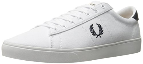 Fred Perry Spencer Canvas White 45