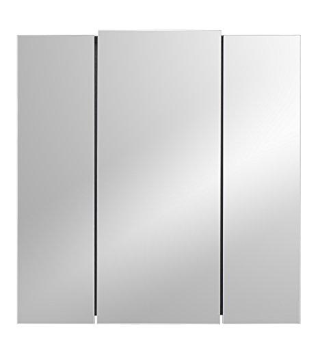 Posseik Spiegelschrank 3-türig, 68 cm - 2