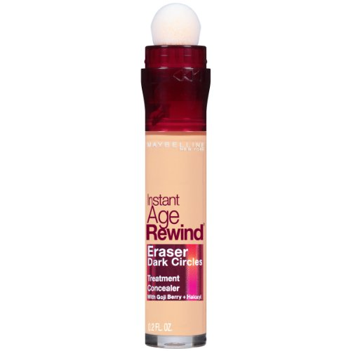 Maybelline New York Instant Age Rewind Dark Circle Concealer, Neutral, 6g