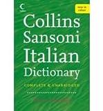 Collins-Sansoni Italian Dictionary