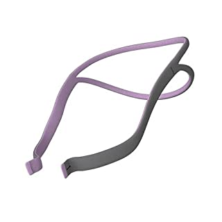 Airfit P10 Nasal Pillow System replacment headgear for her PINK/GRAY by Airfit P10 headagear for her