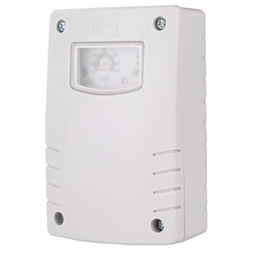 Licht Dämmerungsschalter Zeitschaltuhr Dämmerungssensor 3-500 LUX