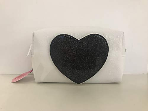 Camomille milano-necessaire m Heart Black C/miroir