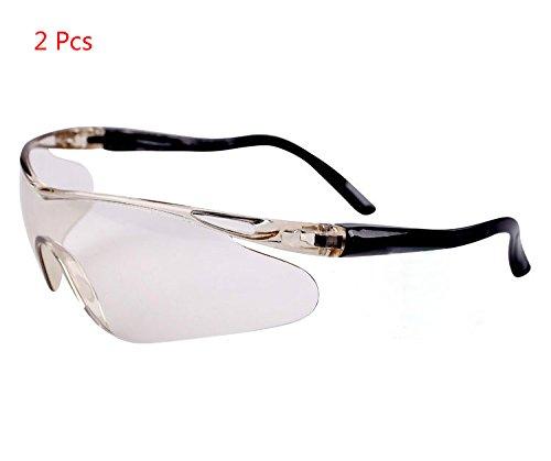 Yalulu 2Pcs Kinder Grau Elastizität Elite Schutz Schutzbrille Brillen für Nerf Gun N-Strike Elite Series (Nerf-gun-brille Kinder)