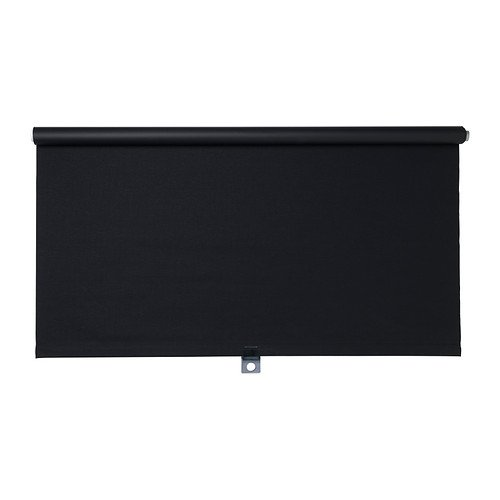 IKEA TUPPLUR, Block, out Rollo, Schwarz, 80 x 195 cm (Rollo-schwarz-out)