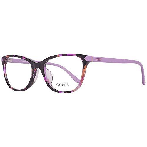 Guess GU2673-F 54083 Brillengestelle GU2673-F 083 Cateye Brillengestelle 54, Mehrfarbig