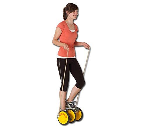 pedalo Starter-Set I Sport inkl. Halteseil I Einzelpedalo I Gleichgewichtstrainer I Koordination I Balance I Kinder I Erwachsene