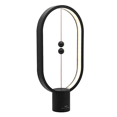 Schlafzimmer Büro Kommode (Moderne Tischlampe Schreibtischlampe Ellipse Smart Balance LED Nacht- Und Tischlampen Levitating Magic Schalterbeleuchtung Nachtlicht Für Schlafzimmer Und Büro Zu Hause Nachttischlampe Kommode)