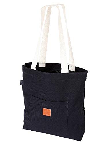 Original ♡ T-BAGS Thailand Strandtasche | Einkaufstasche | 15 coole Designs passend zu unseren Hipster Turnbeuteln | hochwertig, stylisch (Schwarz)