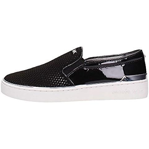 Michael Kors Sneaker Kyle Slip On Black Silver