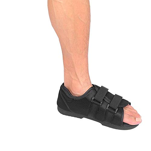 Yinhing Soporte de pie, Bota para Caminar con Correa Ajustable, Almohadilla Impermeable Antideslizante, Zapato de Soporte ortopédico para Hombres, Mujeres, recuperación de fracturas
