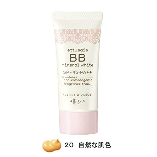 Ettusais BB Mineral White 20 SPF45PA++ [Health and Beauty]
