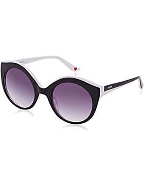 Moschino Eye, Gafas de Sol para Mujer, Negro (Nero/Bianco), 53