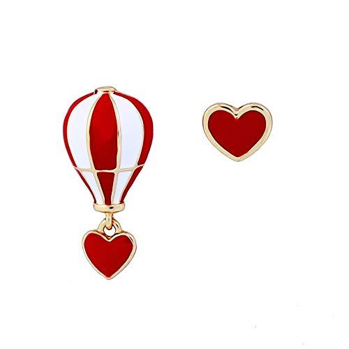 JJLESUN Schmuck Netter Roter Ballon-Ohrring (Ballon-befestigungen)