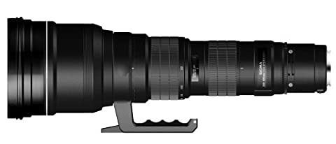 Sigma 300-800 mm F5,6 EX DG HSM-Objektiv (46 mm Filterschublade) für Nikon Objektivbajonett