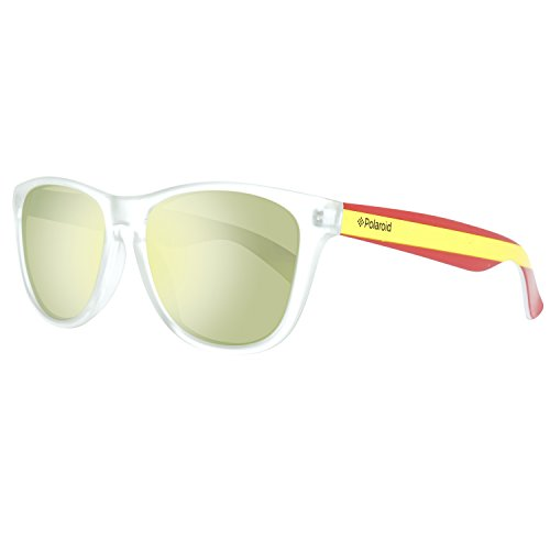 4aeba0017d Polaroid Sonnenbrille 217896CX555LM Gafas de sol, Transparent, 55 Unisex  Adulto