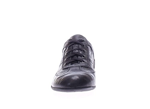 Nero Giardini Uomo Sneaker P704790U-100 Sneaker in pelle abs Nero
