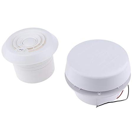 B Blesiya 1 undiad Ventilador Soplador de 12V 200CFM Compatible con Yate Barco