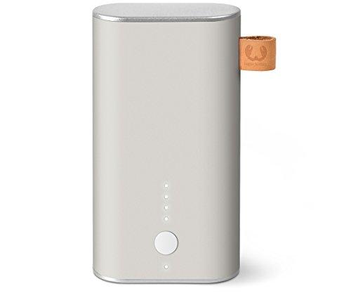 Fresh 'n Rebel 6.000 mAh - Powerbank (inkl. Micro-USB-Kabel und Handbuch - mit mehrfachen Sicherheitsfunktionen - Ladestatusanzeige) Weiß -