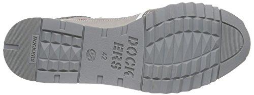Dockers by Gerli Herren 38eb003-201 Low-Top Grau (grau 200)