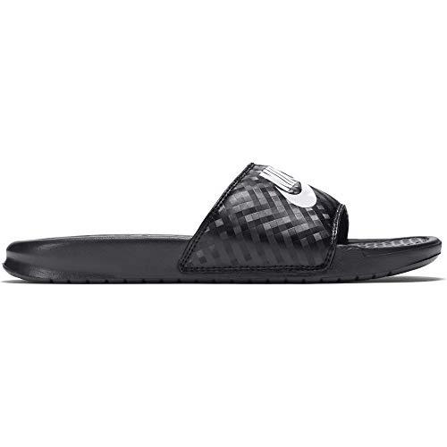 Nike Damen Benassi Jdi Dusch- & Badeschuhe, Schwarz (Black/White), 39 EU