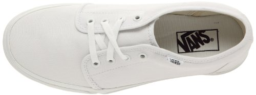 Vans U 106 VULCANIZED Unisex-Erwachsene Sneakers Weiß (True White W00)