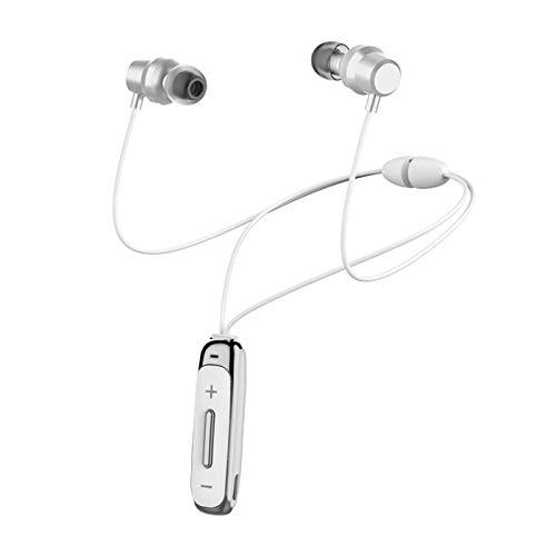 H&T Bluetooth-Kopfhörer, wasserdichte kabellose magnetische Stereo-In-Ear-Ohrhörer, rauschunterdrückende kabellose Sport-Kopfhörer für iPhone/iPad/Samsung/Huawei,D