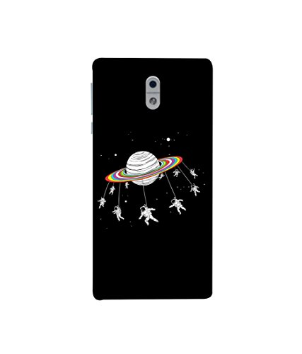 Kaira High Quality Printed Designer Soft Silicon Back Case Cover For Nokia 3(260)  available at amazon for Rs.349