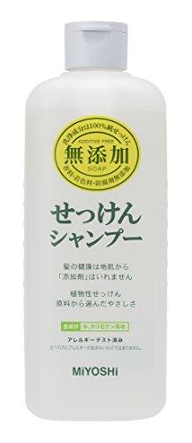 Miyoshi Additive Free Soap Shampoo - 350ml