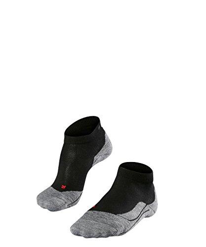 FALKE Damen Socken Laufsocken RU4 Short - 1 Paar, Gr. 39-40, schwarz, feuchtigkeitsregulierend, Sportsocken Running