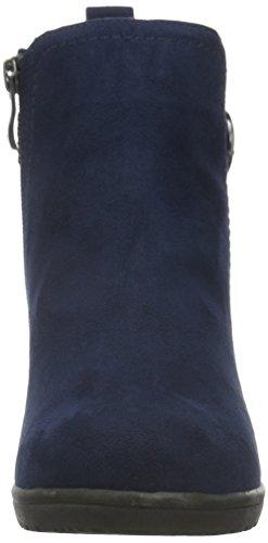 Marco Tozzi 25042, Bottes Souples Femme Bleu (NAVY 805)