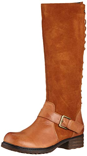 Hush Puppies Damen Pomeranian High Boot Hohe Stiefel, Braun (Tan 000), 39 EU