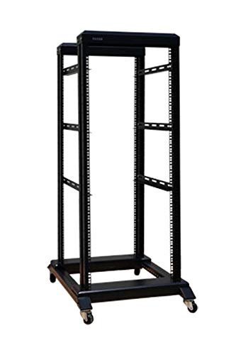 15U 27U 4 Post Open Frame 48,3 cm Server/Audio Stahl Rack Tief von 40,6 cm-31  27U 24