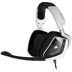 Corsair CA-9011139-EU Gaming VOID White USB Casque Gaming PC Confortable-Blanc