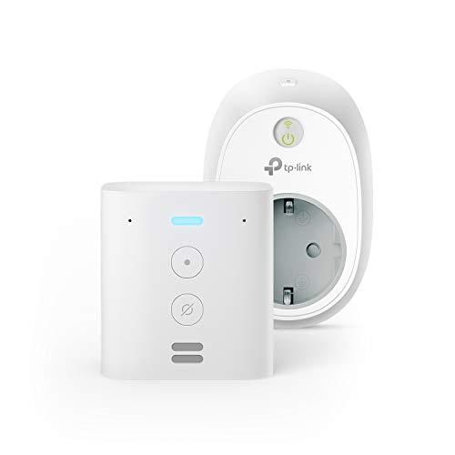 Echo Flex +TP-Link HS100 Presa intelligente Wi-Fi, compatibile con Alexa
