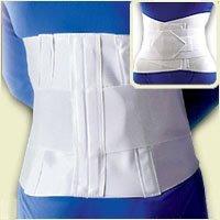 Sacral Lumbar Support with Abdominal Belt : Large by Florida Orthopedics (Florida Belt)