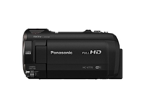 Full HD : Panasonic HC-V770 HD Camcorder with Wireless Smartphone Twin Video Capture