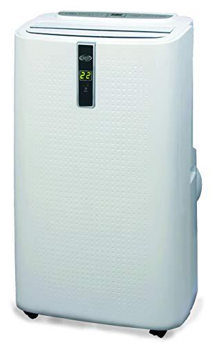 Argoclima hyder climatizzatore portatile 13000 btu con pompa di calore, bianco