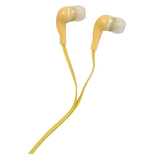 Soroo C2c In Ear Light Yellow Wired Earphones Without Mic 3.5mm Headset For Samsung, Apple, Oppo, Vivo, Motorola, Micromax, HTC, Intex, Lenovo, Redmi, Sony, Spice, Nokia (Light Yellow)  available at amazon for Rs.169