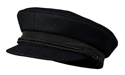 ELBSEGLER schwarz aus Schurwolle und Kaschmir ()